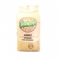 Arroz Redondo Semi-Integral Biocop 1Kg