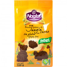 Galletas Jungla Cacao Noglut Santiveri