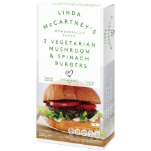 Burger Espinacas y Setas LInda McCartney