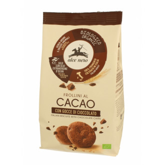 Galletas Cacao con Gotas Chocolate Alce Nero