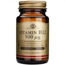 Vitamina B12 500µg  (cianocobalamina) 50cap