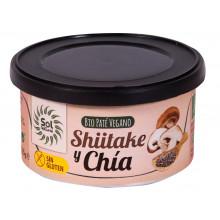 Paté Shiitake y Chía