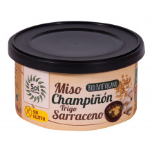 Paté Miso, champiñón, trigo sarraceno.