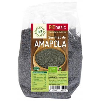 Semillas Amapola 250g Sol Natural