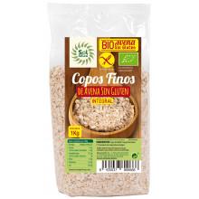 Copos Avena Finos Sin Gluten 1Kg Sol Natural