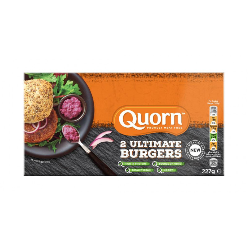 Burger Ultimate 2u Quorn