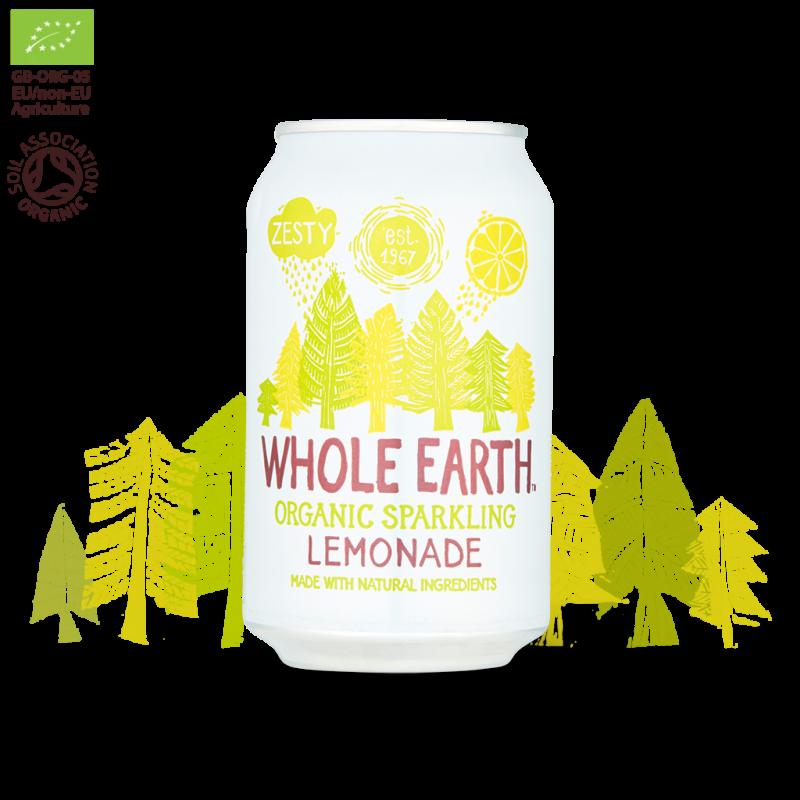 Refresco Limón Sin Azúcar Whole Earth