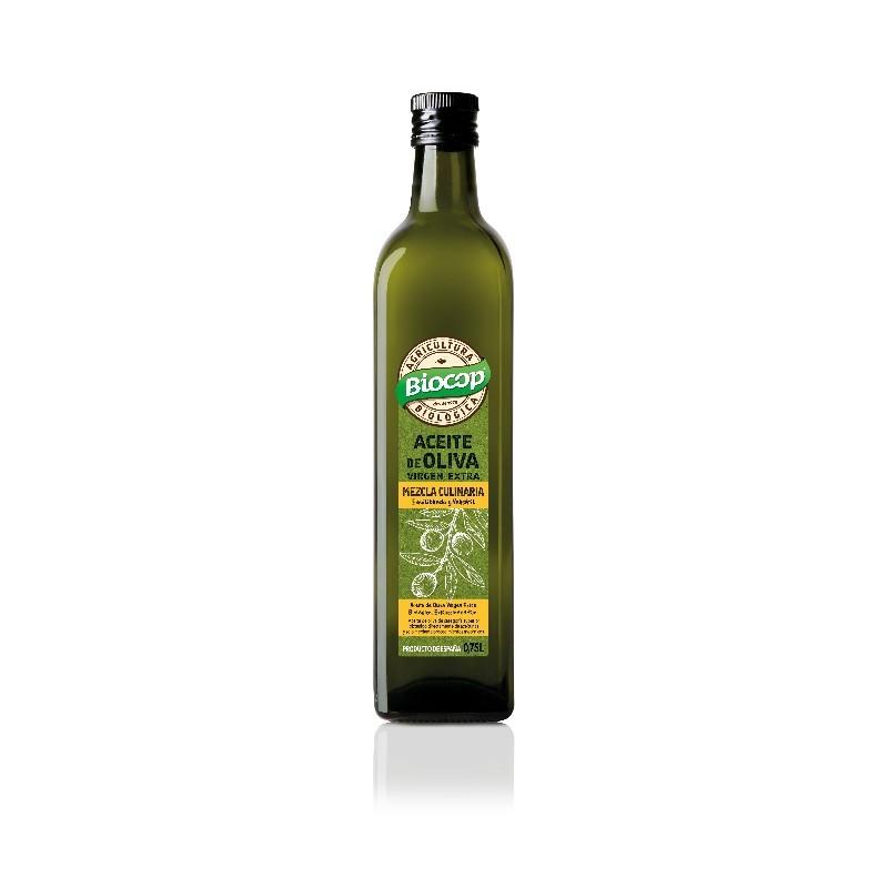 Aceite Oliva Virgen Extra Mezcla Culinaria 75cl Biocop