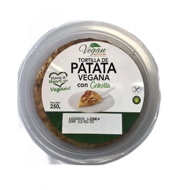 Tortilla Patatas con Cebolla Vegana Vegan Nutrition