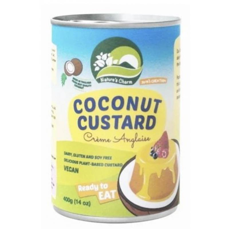 Crema Inglesa Coco - Coconut Custard - 400g Nature's Charm