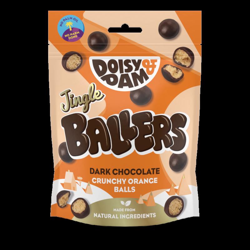 Jingle Ballers Choco y Naranja 75g Doisy & Dam