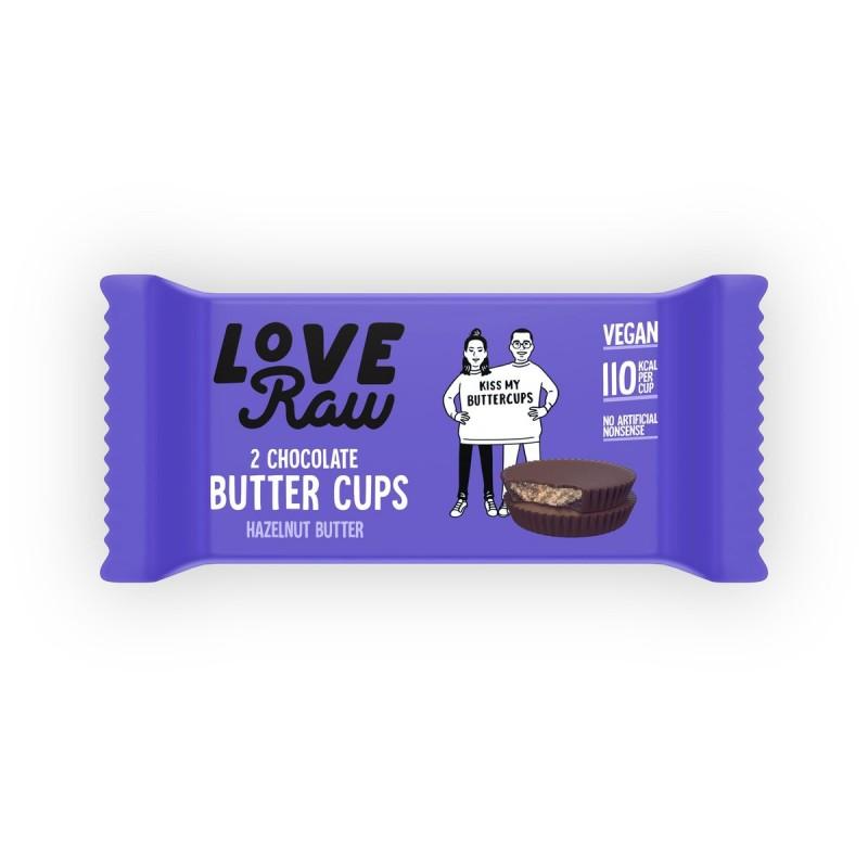 Butter Cups Avellana Love Raw
