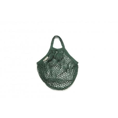 Bolsa Red Algodón Verde Botella Asa Corta Eco Turtle Bags