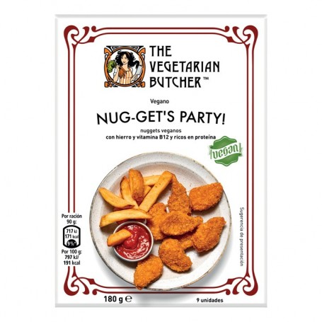 Nuggets Vegetarian Butcher 180g