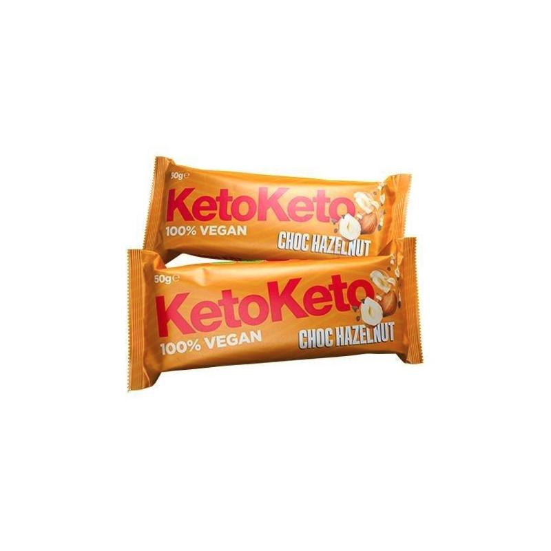 Barrita Avellanas y Chocolate 50g Keto Keto