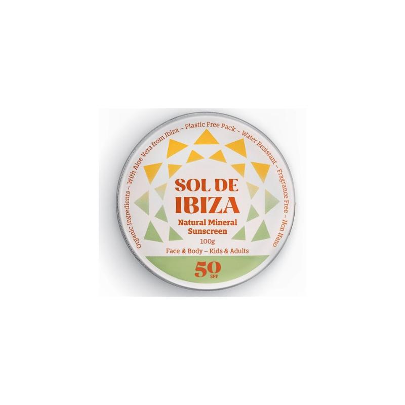 Crema Solar Sol de Ibiza SPF50 100ml