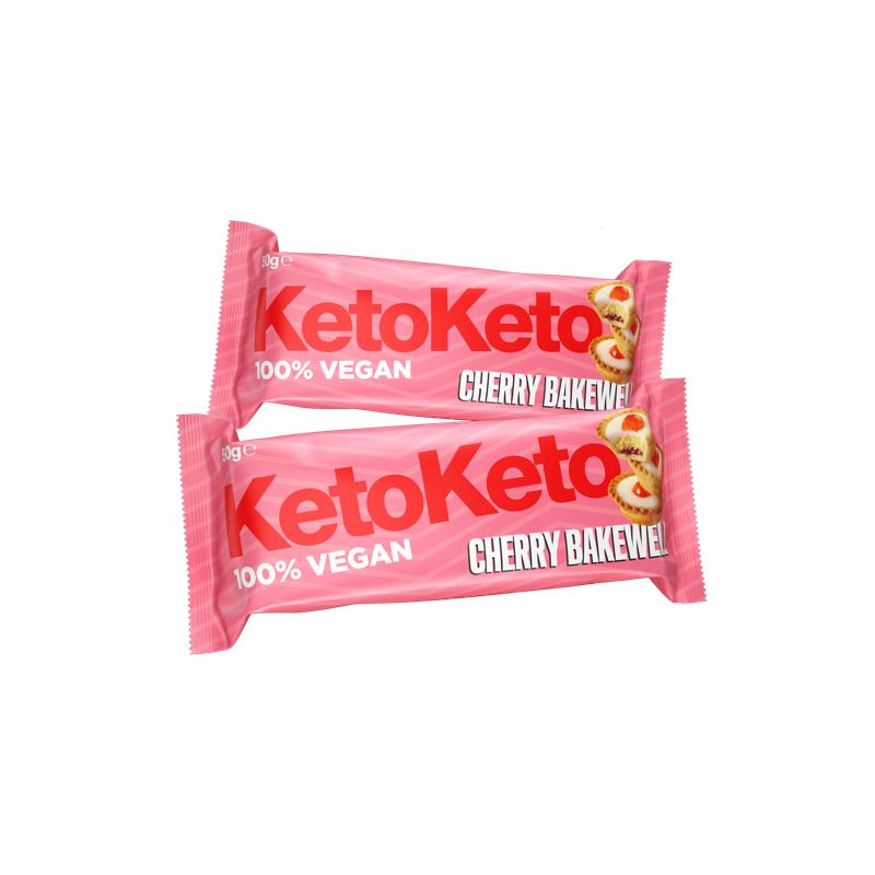 Barrita Cereza Cherry Bakewell 50g Keto Keto