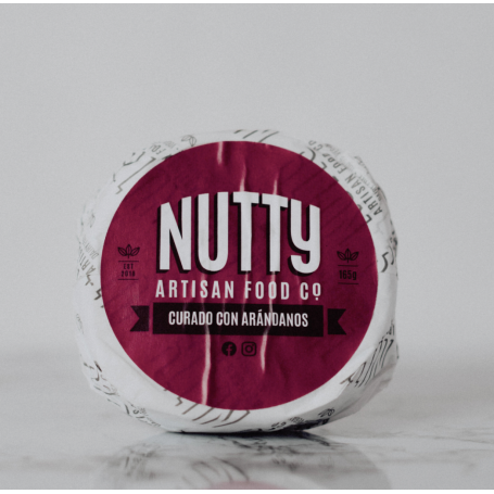 Curado con Arándanos 165g Nutty