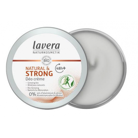 Desodorante Crema 48h+ Strong & Natural 50ml Lavera