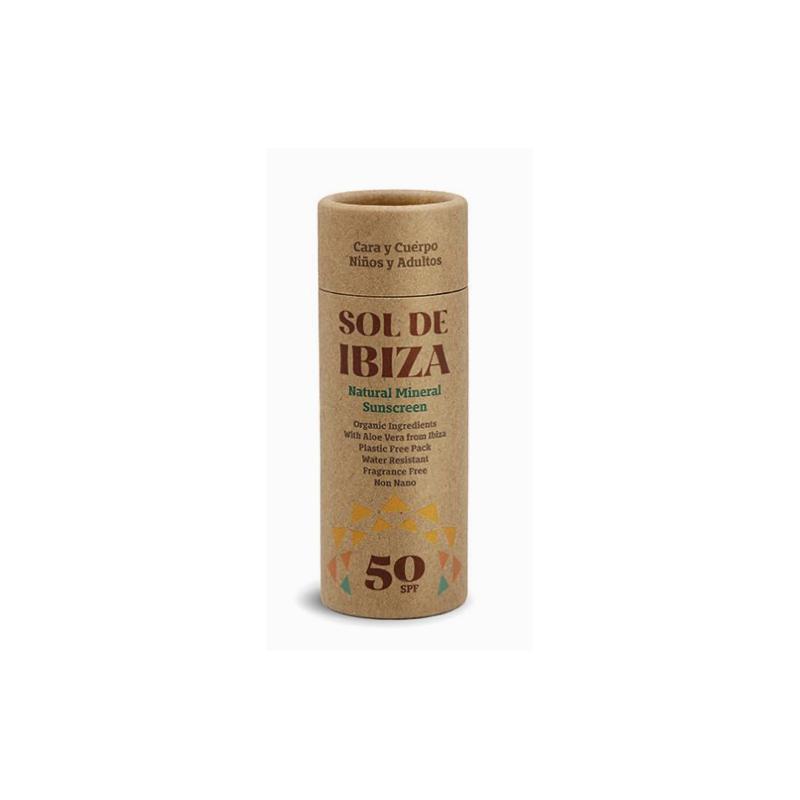 Sol de Ibiza Stick Solar bio spf 50+ 40 gr