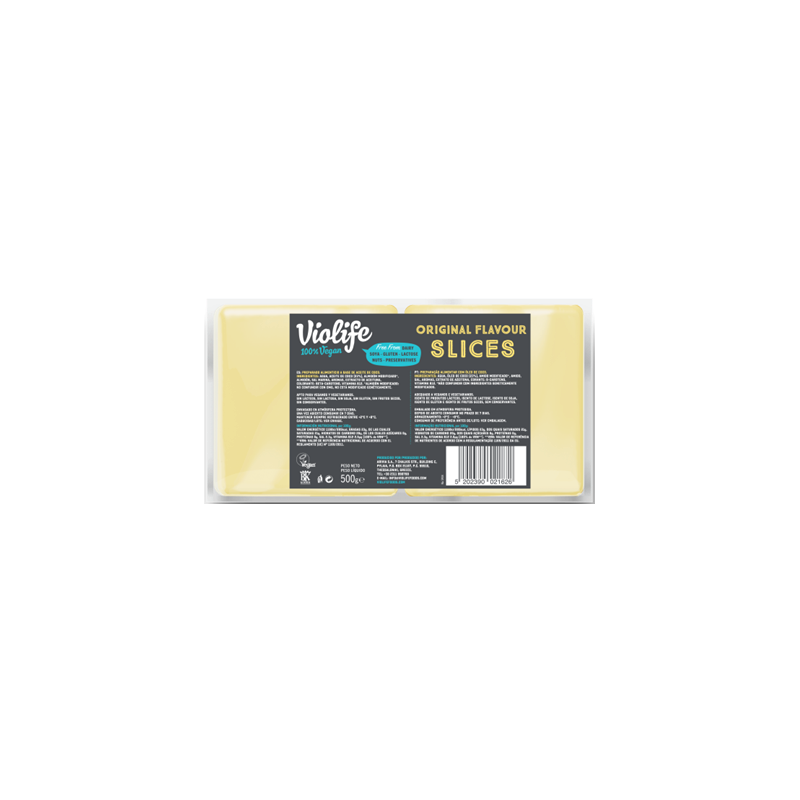 Lonchas Original Queso 500g Violife