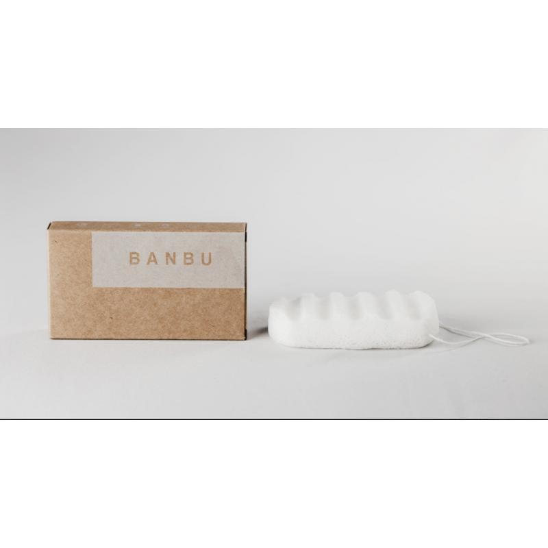 Esponja Konjac Natural Banbu