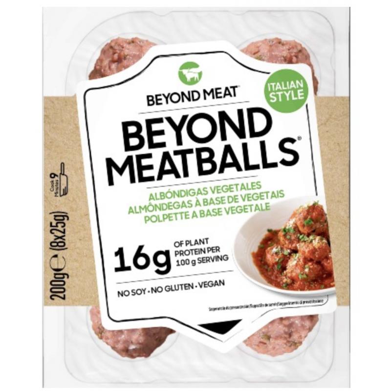 MeatBalls Beyond Meat vegandfriends