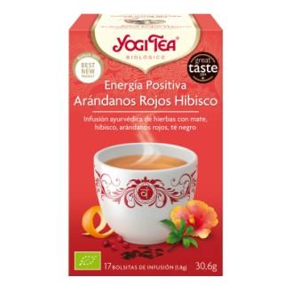 Yogi tea energia positiva arand hibisco yogi tea
