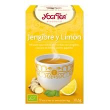 Jengibre y Limón Yogi Tea