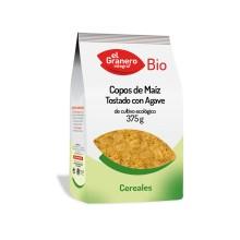 Copos Maíz Tostado  con  Ágave El Granero