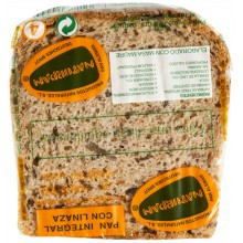Pan integral con linaza