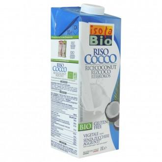 Bebida de arroz y coco isola bio